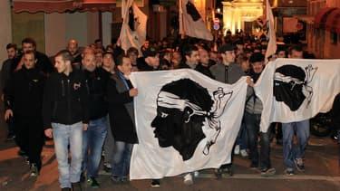 Des manifestations violentes ont visé une salle de prière musulmane d'Ajaccio vendredi.