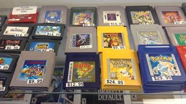 Des cartouches Game Boy à des prix élevés