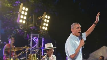 Le président Barack Obama lors de la célébration de la fête nationale, le 4 juillet 2015 à Washington