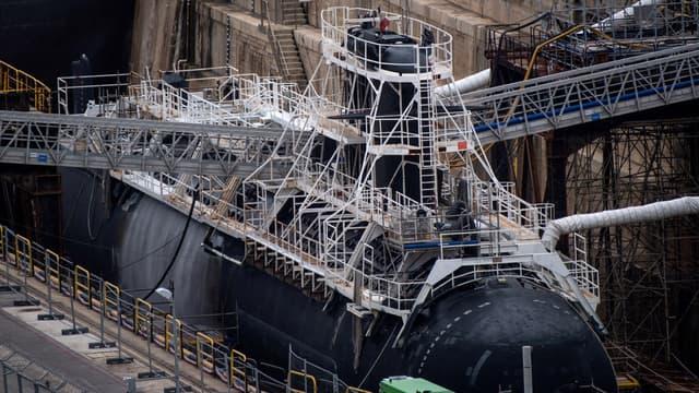 Sous-marin nucléaire français