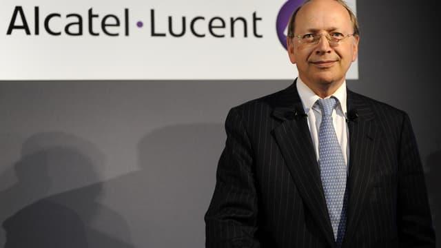 Le PDG d'Alcatel-Lucent Ben Verwaayen (Reuters)