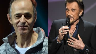 Jean-Jacques Goldman et Johnny Hallyday