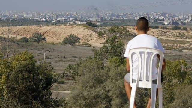 La bande de Gaza, le mardi 13 novembre.