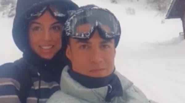 Cristiano Ronaldo et sa compagne Georgina Rodriguez