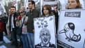 A Ankara, des manifestants contre le blocage de Twitter, le 21 mars 2014.