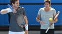 Amélie Mauresmo, aux côtés d'Andy Murray