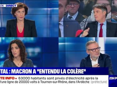 "Hôpital: Emmanuel Macron a ""entendu la colère"" - 14/11"