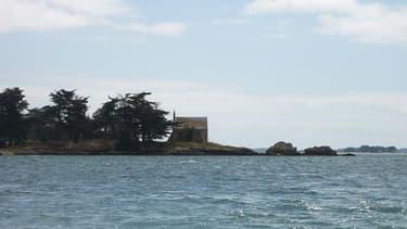 L'île de Boëdic, dans le golfe du Morbihan