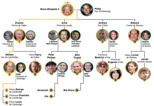 Infog succession royale