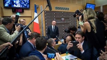 Gérard Collomb peut avant le début de son audition par la commission des Lois de l'Assemblée nationale le 23 juillet