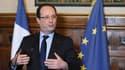 François Hollande à Tulle, en avril 2013. Le président retourne dans son fief pour y présenter ses voeux aux Corréziens.