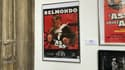 """Une affiche de """"L'As des As"""", à l'exposition lilloise """"Belmondo - Comédies en cascade"""""""