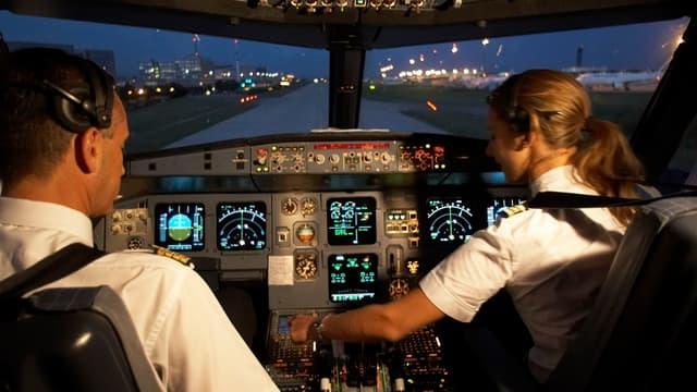 Entre 60 et 75% des pilotes d'Air France sont en grève ce mercredi.