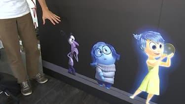 """Les personnages du prochain Pixar, """"Inside out"""" ont été dévoilés mardi au festival  d'animation d'Annecy."""