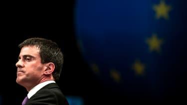 Manuel Valls nie toute divergences de fonds sur la Grèce entre Paris et Berlin.