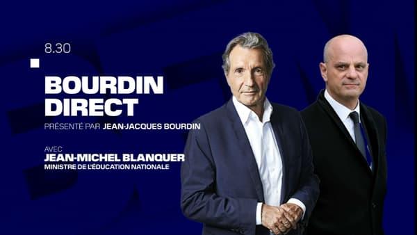 Jean-Michel Blanquer est l'invité de Jean-Jacques Bourdin sur BFMTV-RMC, le 1er septembre 2020.