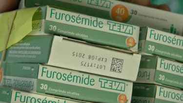 Des boîtes du médicament Furosémide