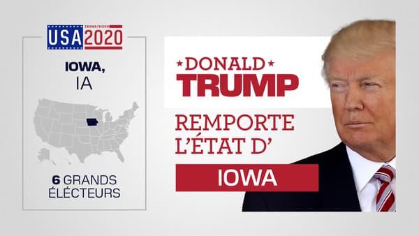 donald Trump remporte l'Iowa