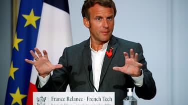 Emmanuel Macron a défendu le déploiement des réseaux 5G sur le territoire français lors d'un discours devant les acteurs de la French Tech