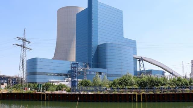 La nouvelle centrale à charbon de Datteln en Rhénanie-Westphalie, a coûté 1,5 milliard d'euros à Uniper, le producteur d'énergie qui l'exploite.