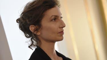 Audrey Azoulay, ex-ministre de la Culture et actuelle directrice générale de l'Unesco. - Lionel Bonaventure - AFP