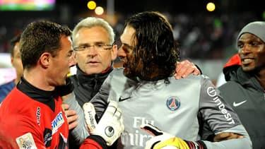 Le match Evian-PSG a dégénéré dimanche.