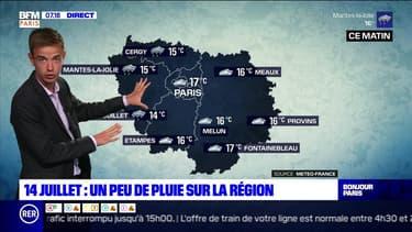 Météo Paris-Ile de France du 14 juillet : Retour d'une perturbation