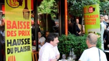 Hérvé Novelli estime que les salariés de la restauration ont vu leurs salaires revalorisés de 5% depuis l'instauration du taux réduit de TVA dans la restauration