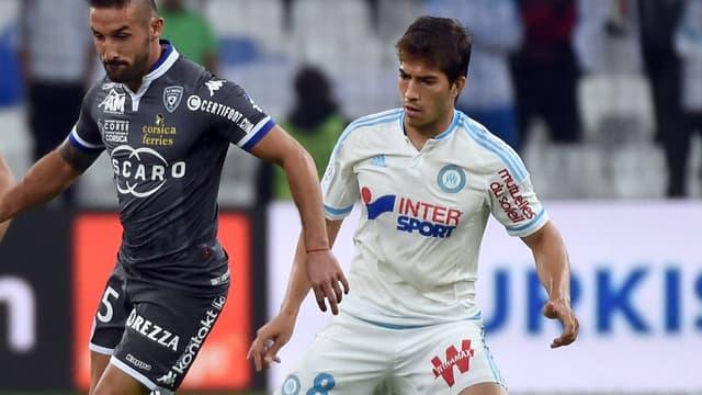 Lucas Silva face à Bastia