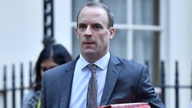 Le ministre britannique chargé du Brexit, Dominic Raab.