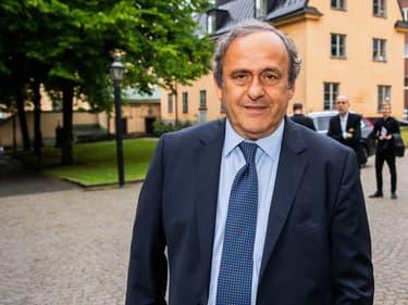 Michel Platini en 2019