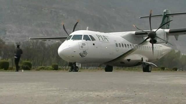 Un ATR-42 de la PIA, du même modèle que l'appareil qui s'est écrasé ce mercredi au Pakistan.