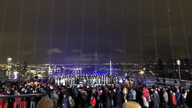 Commémoration de la tuerie antiféministe qui avait fait 14 morts le 6 décembre 1989, à Montréal.