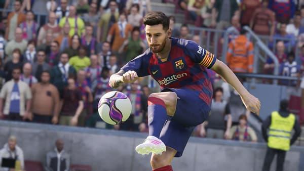 Lionel Messi dans PES 2020