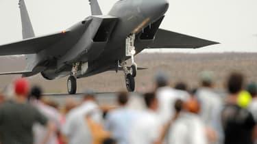 Avant qu'il ne s'écrase, deux F-15 de l'armée de l'air américaine, comme celui-ci, s'étaient lancé à sa poursuite (photo d'illustration).
