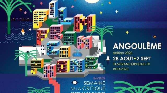 L'affiche du festival d'Angoulême
