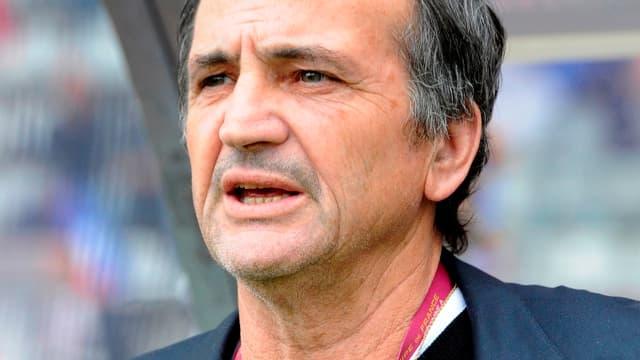 Bruno Bini, le sélectionneur des Bleues