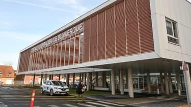 Le centre hospitalier de Dunkerque (Nord), le 17 février 2021.