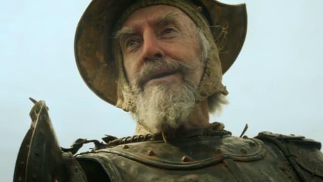 Jonathan Pryce dans le Don Quichotte de Terry Gilliam