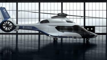 Le nouveau H160 d'Airbus était connu jusqu'à présent sous le code X4.