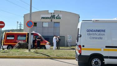 L'attentat a eu lieu sur le site de cette usine dans l'Isère.