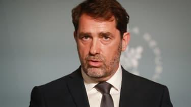 Le ministre de l'Intérieur Christophe Castaner, le 27  mai 2020 à Paris