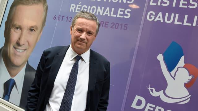 Nicolas Dupont-Aignan,en mai 2015.