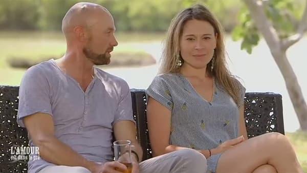 """Raphaël et Marie-Laure, candidats de la 12e saison de """"l'Amour est dans le pré""""."""