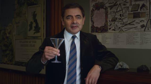 Rowan Atkinson dans Johnny English