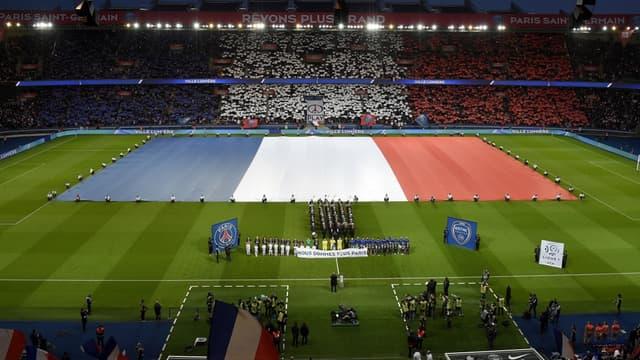 Le sublime hommage du PSG le week-end dernier au Parc des princes.