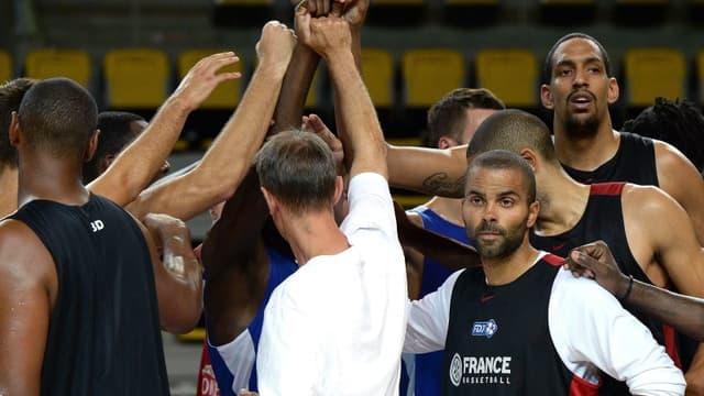 L'équipe de France de basket