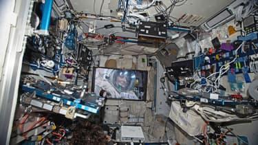 Le film Proxima a été projeté dans l'espace.