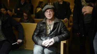 François Cluzet au tribunal de Lyon en décembre 2014.