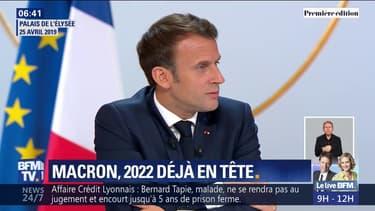 Emmanuel Macron pense-t-il déjà à un second mandat?